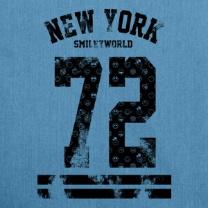 Smileyworld 'New York 72' - Skulderveske av resirkulert materiale