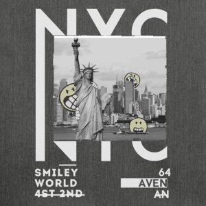Smileyworld 'New York Statue of Liberty' - Skuldertaske af recycling-material