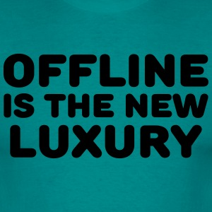 Offline is the new luxury Tee shirts - T-shirt Homme