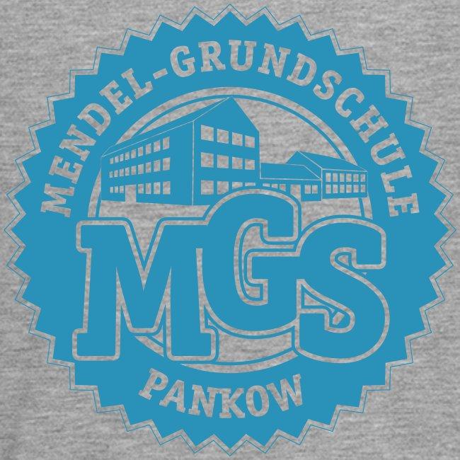 Mendelschule Highschool-Signet - Longshirt Kids, gerade