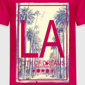 Smileyworld 'LA City of Dreams' - Teenager Premium T-Shirt