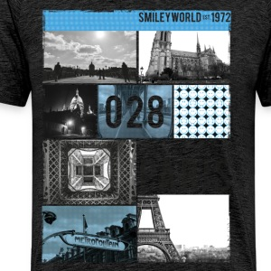 Smileyworld '028 Paris' - Maglietta Premium da uomo