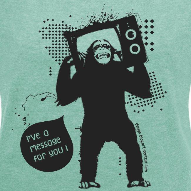 Monkey - Woman