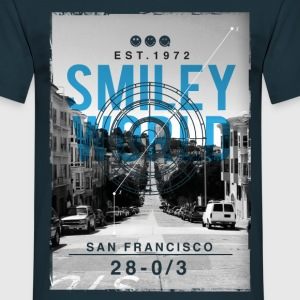 Smileyworld 'San Francisco' - Männer T-Shirt