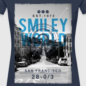 Smileyworld 'San Francisco' - Frauen Premium T-Shirt