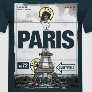 Smileyworld 'Paris Eiffelturm' - Männer T-Shirt