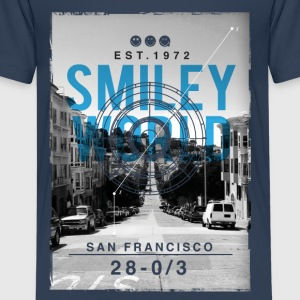 Smileyworld 'San Francisco' - Premium T-skjorte for tenåringer