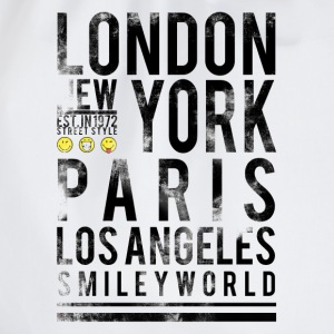 Smileyworld 'Cities' - Turnbeutel