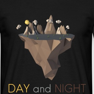 DAY and NIGHT T-Shirt - Männer T-Shirt