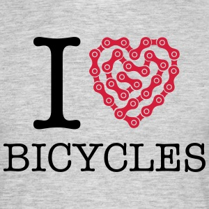 I Love Bicycles T-Shirts - Men's T-Shirt