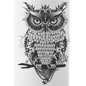 A dark owl Mugs & Drinkware - Water Bottle