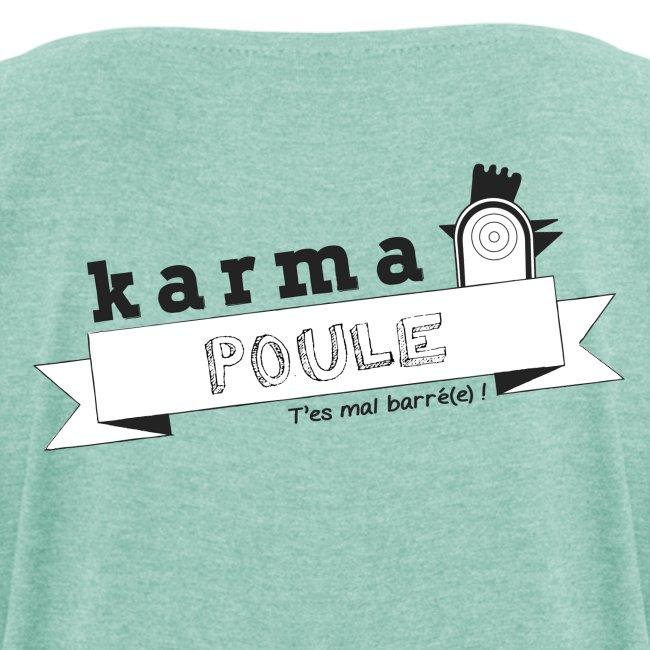 Karma Poule black - Woman