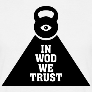 In WOD We Trust T-shirts - T-shirt herr