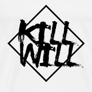 Kill WIll: Black Logo - Männer Premium T-Shirt