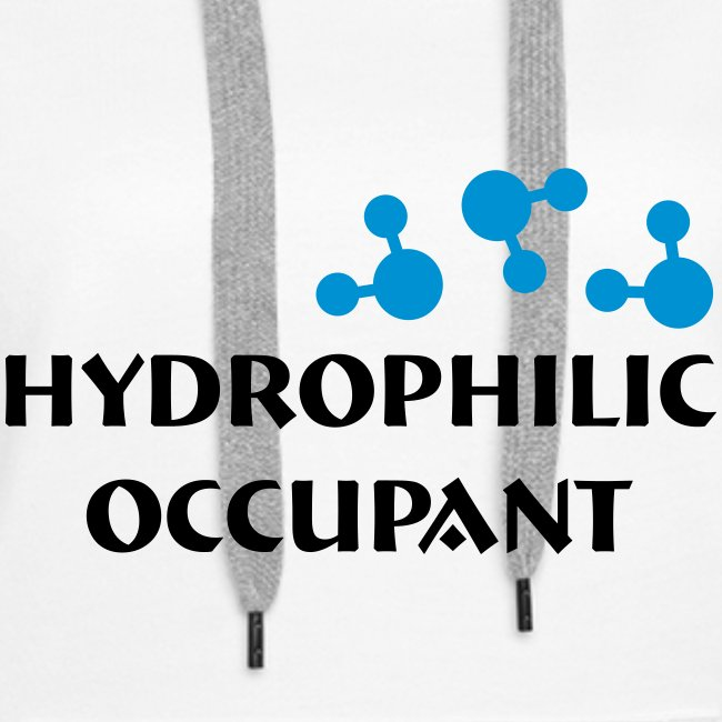 Hydro-Occ. Womens Hoodie - (HydroOcc 2 colour - frt/lg)