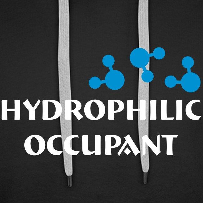 Hydro-Occ. Mens Hoodie - (HydroOcc 2 colour - frt/lg)