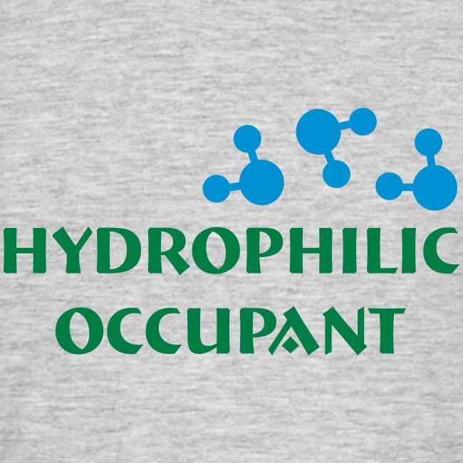 Hydro-Occ. Mens T-Shirt - (HydroOcc 2 colour - frt/lg)