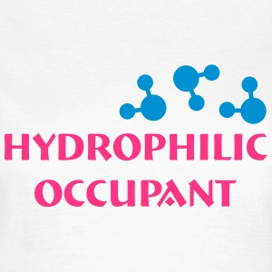 Hydrophilic Occupant (2 colour vector graphic) T-Shirts - Women's T-Shirt