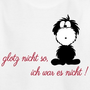 monster glotz nicht so ich war es nicht T-Shirts - Teenager T-Shirt