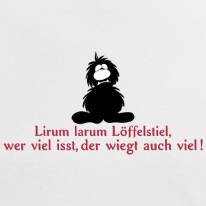 monster lirum larum  T-Shirts - Frauen Kontrast-T-Shirt