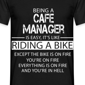 Cafe Manager T-Shirts - Men's T-Shirt
