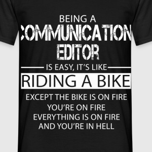 Communications Editor T-Shirts - Men's T-Shirt