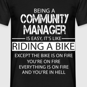 Community Manager T-Shirts - Men's T-Shirt