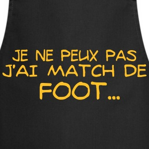 J'ai match de foot - Tablier de cuisine