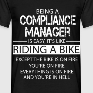 Compliance Manager T-Shirts - Men's T-Shirt