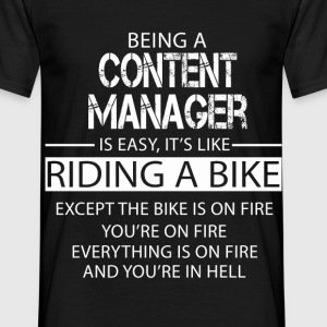Content Manager T-Shirts - Men's T-Shirt