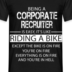 Corporate Recruiter T-Shirts - Men's T-Shirt