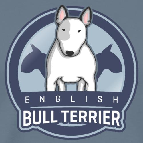 English Bull Terrier Front WHITE