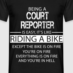 Court Reporter T-Shirts - Men's T-Shirt