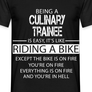 Culinary Trainee T-Shirts - Men's T-Shirt