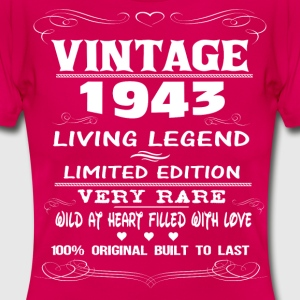 VINTAGE 1943-LIVING LEGEND T-Shirts - Women's T-Shirt