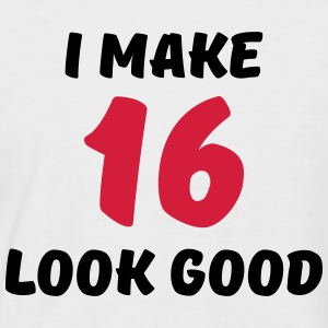 I make 16 look good Camisetas - Camiseta béisbol manga corta hombre