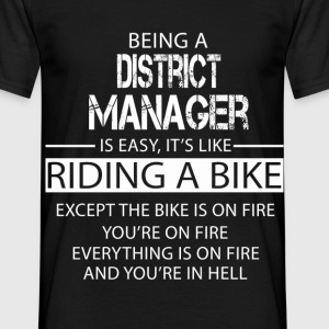 District Manager T-Shirts - Men's T-Shirt