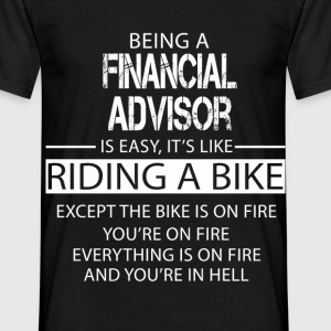 Financial Advisor T-Shirts - Men's T-Shirt