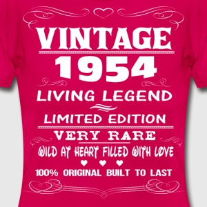 VINTAGE 1954-LIVING LEGEND T-Shirts - Women's T-Shirt