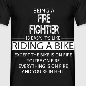 Fire Fighter T-Shirts - Men's T-Shirt