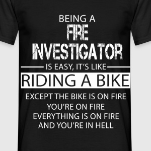 Fire Investigator T-Shirts - Men's T-Shirt