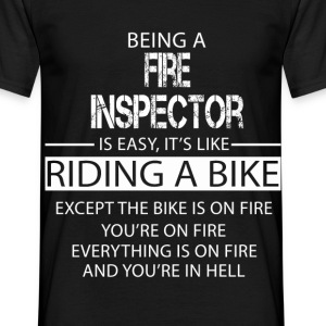 Fire Inspector T-Shirts - Men's T-Shirt