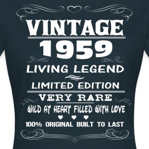 VINTAGE 1959-LIVING LEGEND T-Shirts - Women's T-Shirt