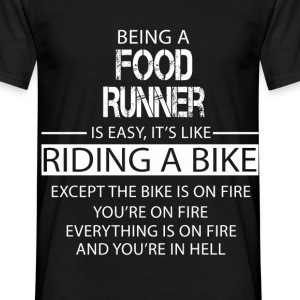 Food Runner T-Shirts - Men's T-Shirt