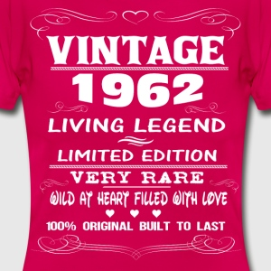 VINTAGE 1962-LIVING LEGEND T-Shirts - Women's T-Shirt
