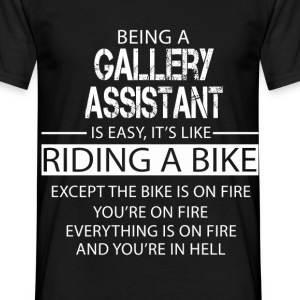 Gallery Assistant T-Shirts - Men's T-Shirt