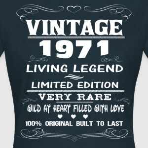 VINTAGE 1971-LIVING LEGEND T-Shirts - Women's T-Shirt