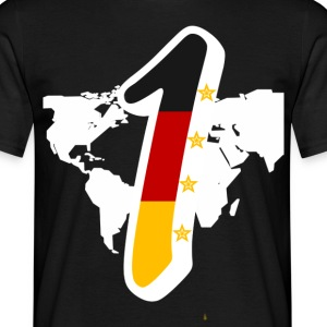 Nr1 in the World T-Shirts - Männer T-Shirt