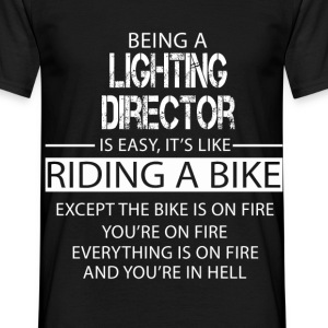 Lighting Director T-Shirts - Men's T-Shirt
