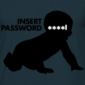 insert password - Men's T-Shirt